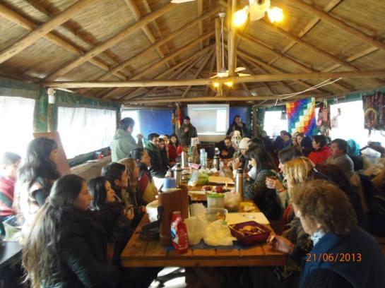 5º Mesa de Trabajo por la Educación Intercultural. Foto:  Mauri Rojas